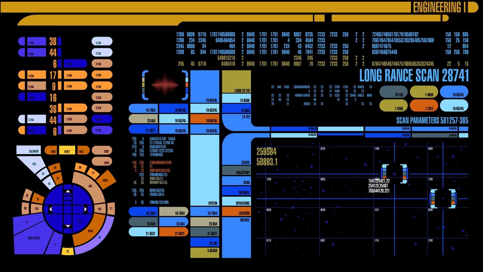 star trek computer wallpaper | nerdology: star trek | pinterest