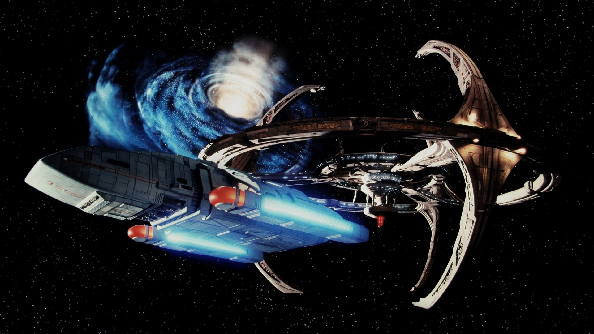 star trek: deep space nine - crossroads of time full hd wallpaper