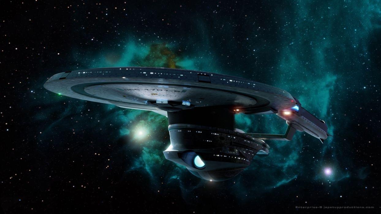 star trek starship enterprise spaceship stars nebula wallpaper