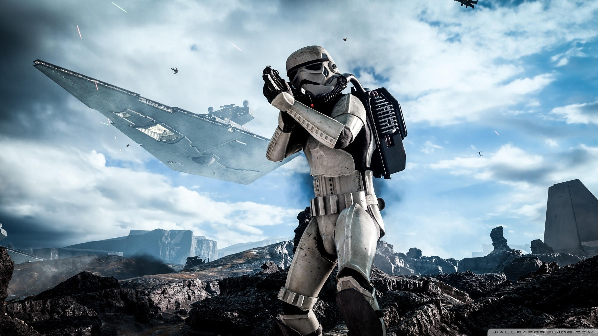 star wars battlefront stormtrooper ❤ 4k hd desktop wallpaper for 4k
