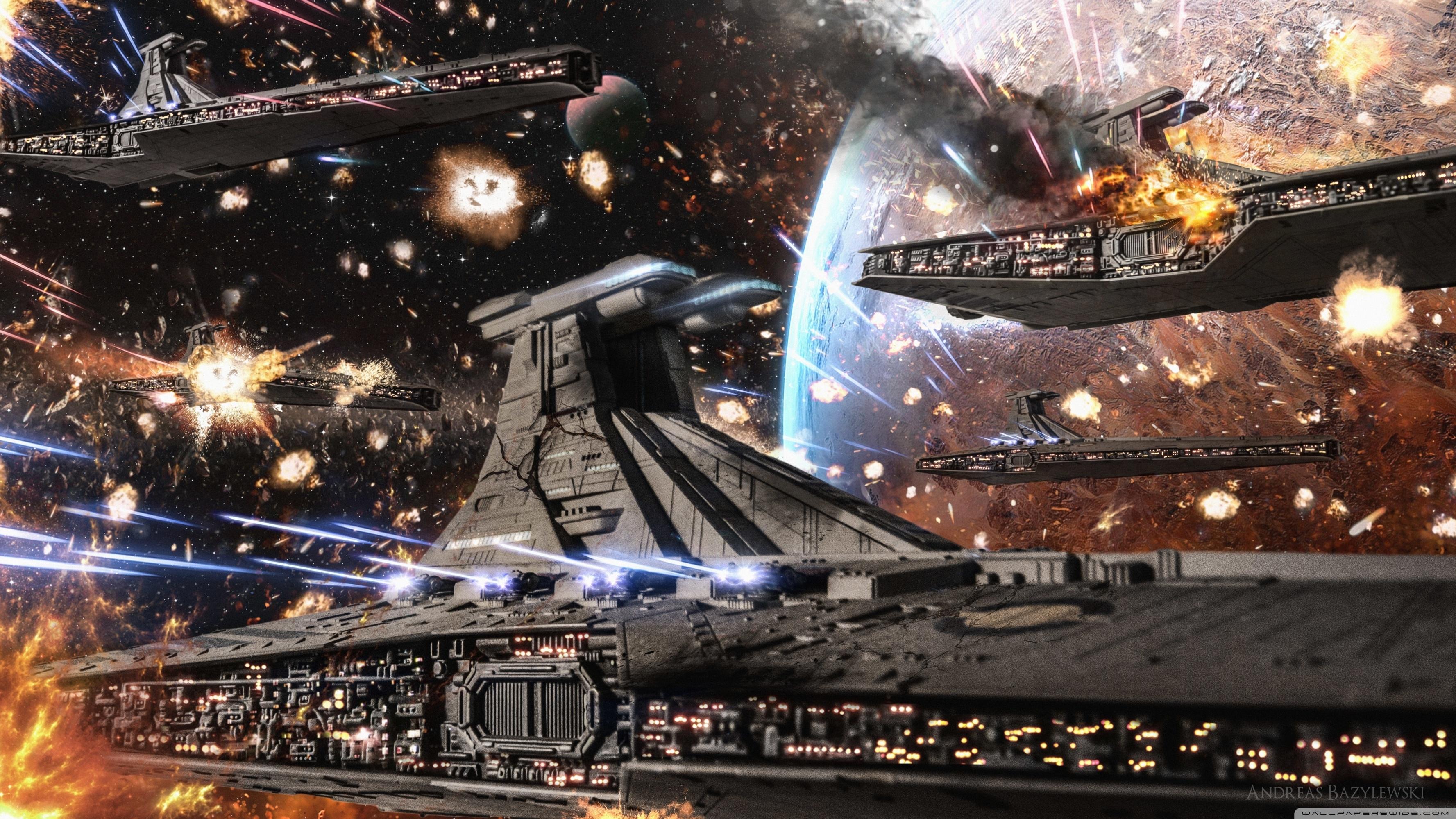 star wars clone wars republic venator fleet ❤ 4k hd desktop