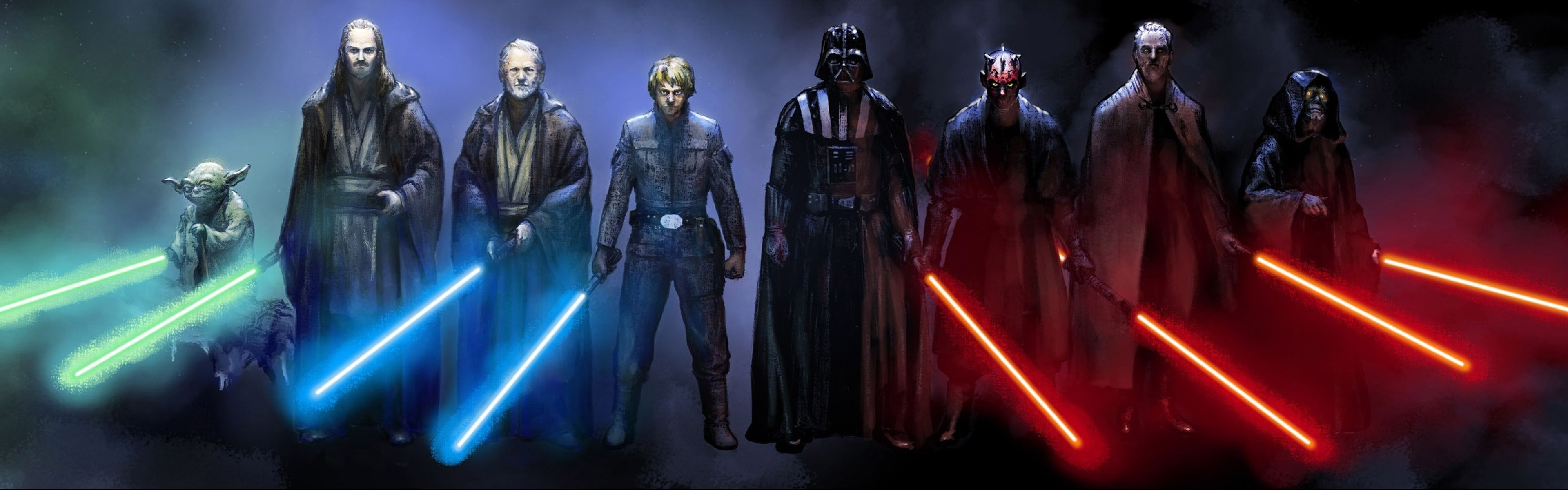 Title Star Wars Dual Monitor Wallpaper 1 Download Free Hd Wallpapers For Dimension 3840 X 1200 File Type JPG JPEG