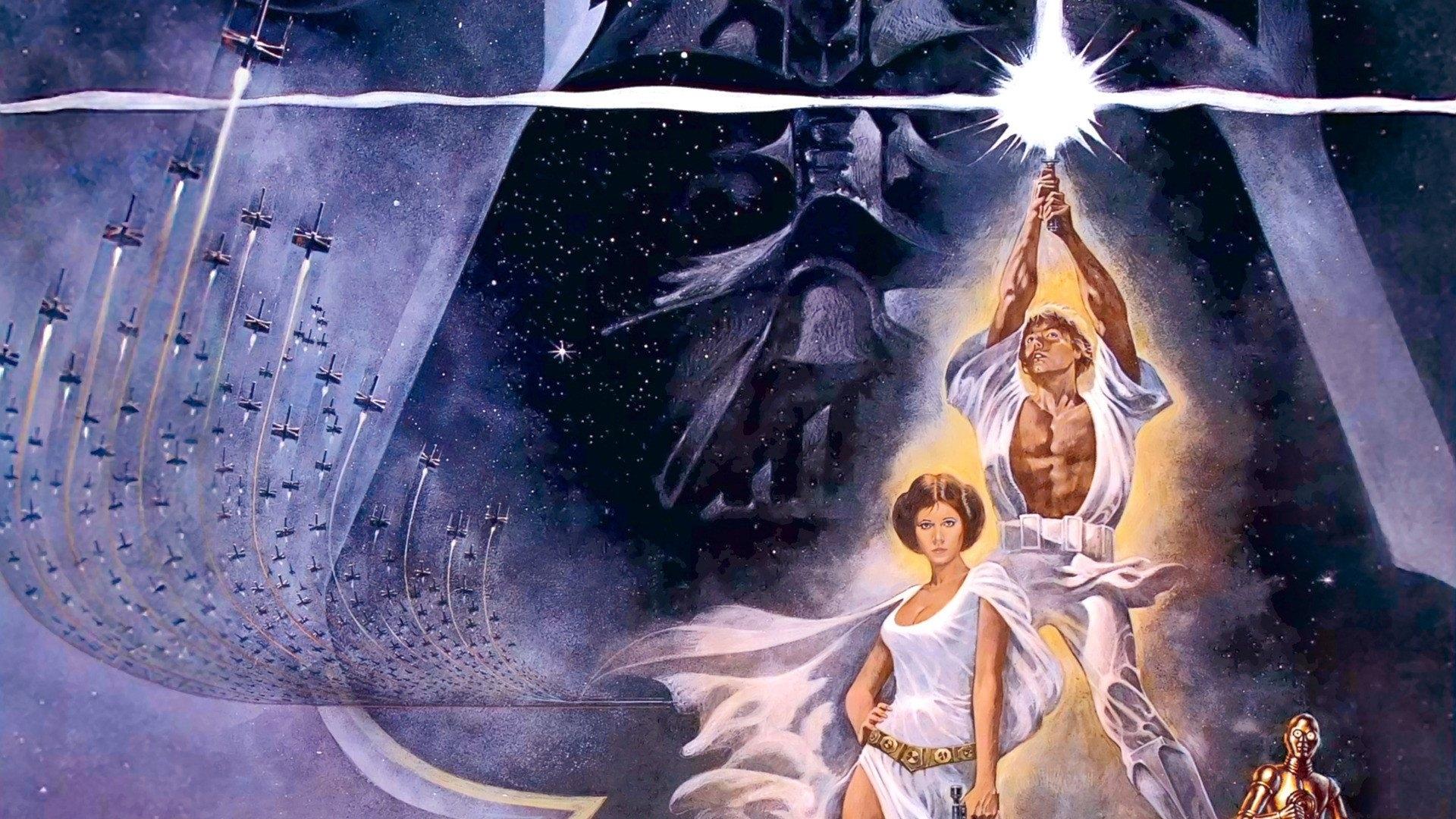 star wars, épisode iv : un nouvel espoir full hd fond d'écran and