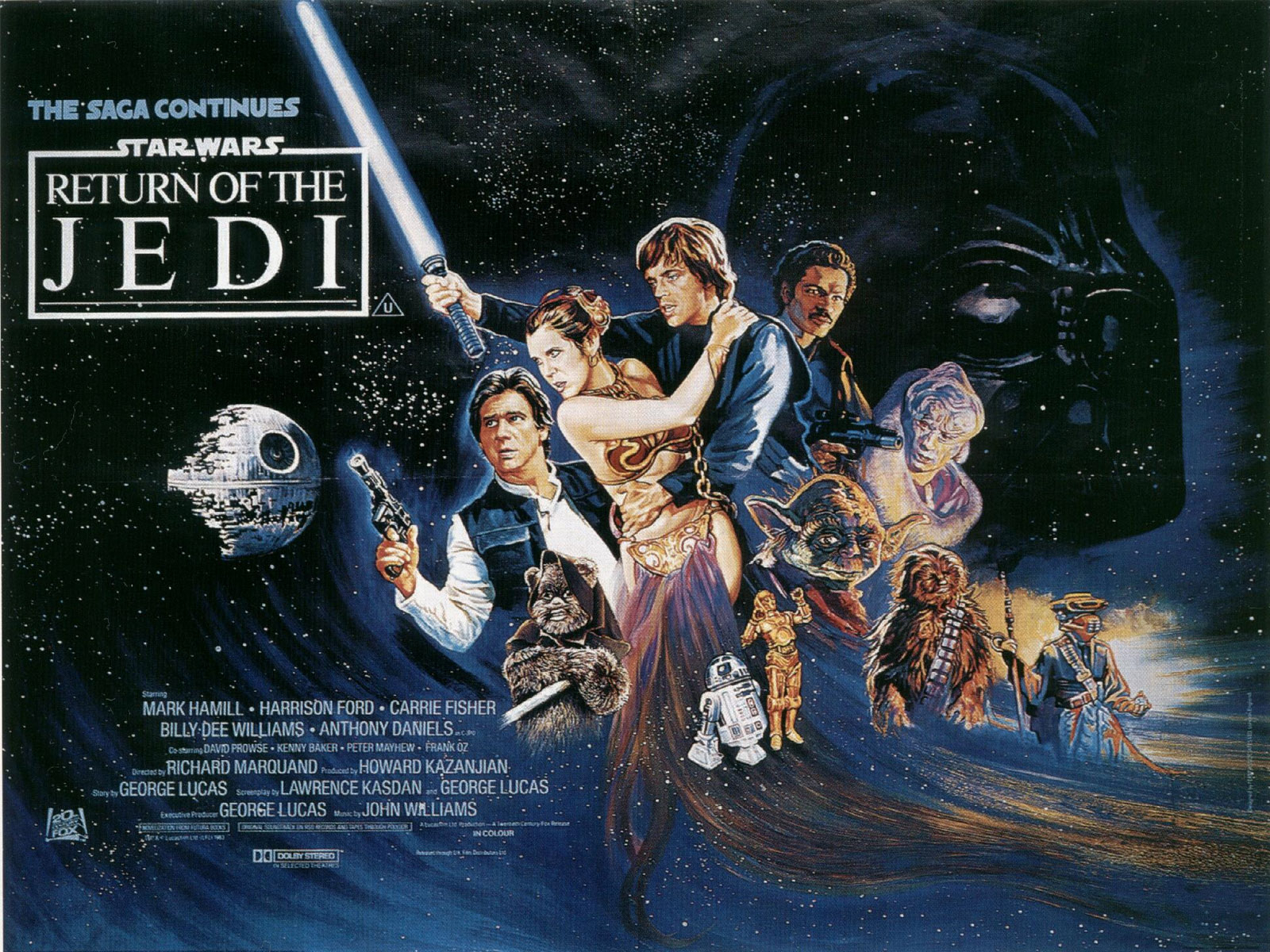 star wars episode vi: return of the jedi wallpaper and hintergrund