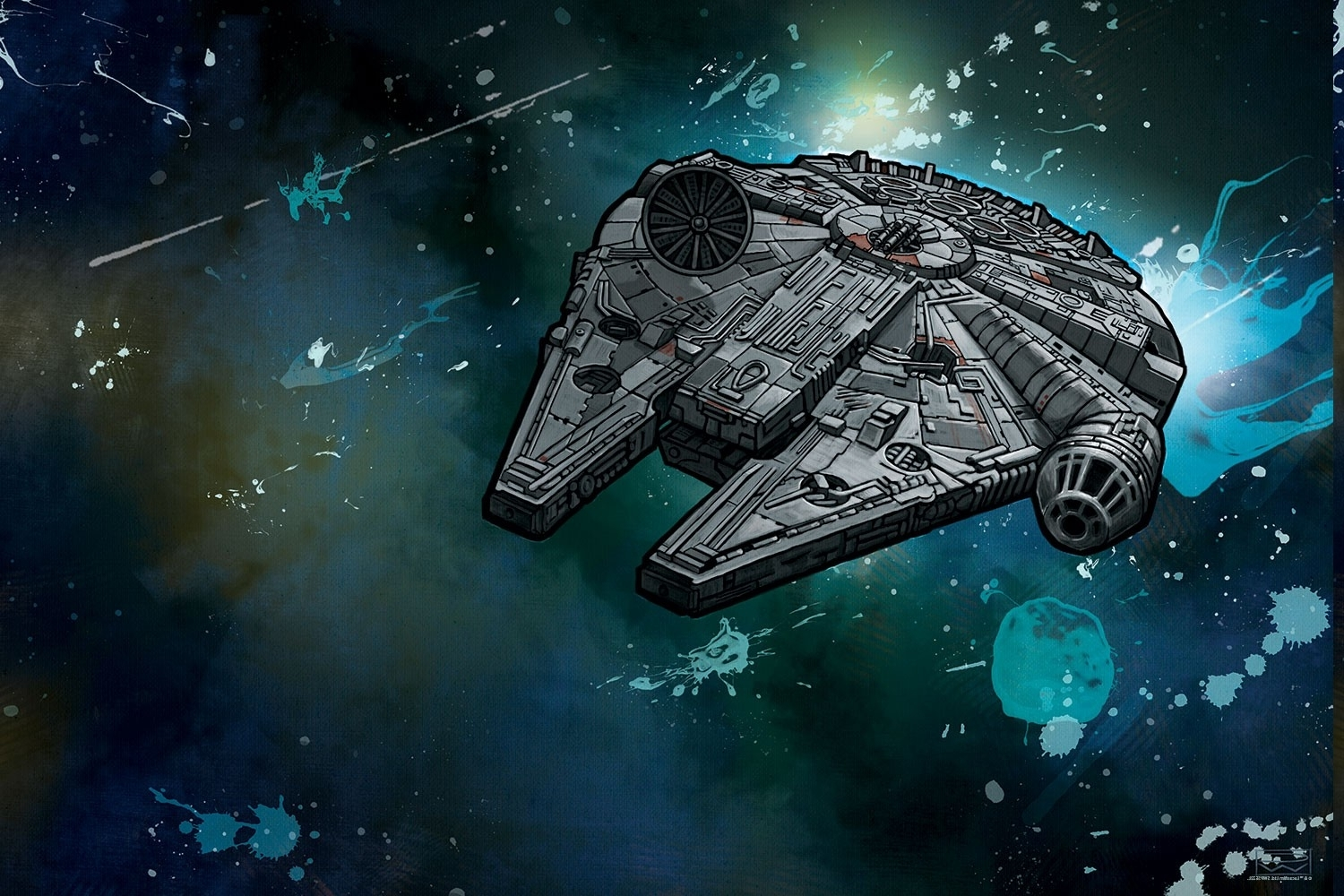 star wars, join the alliance, millennium falcon wallpapers hd