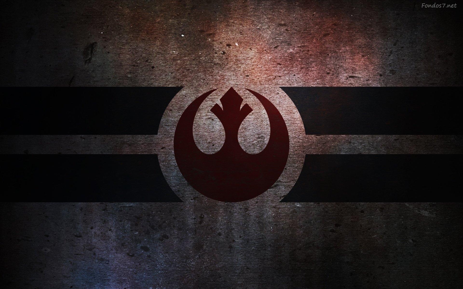 star wars rebel logo - walldevil