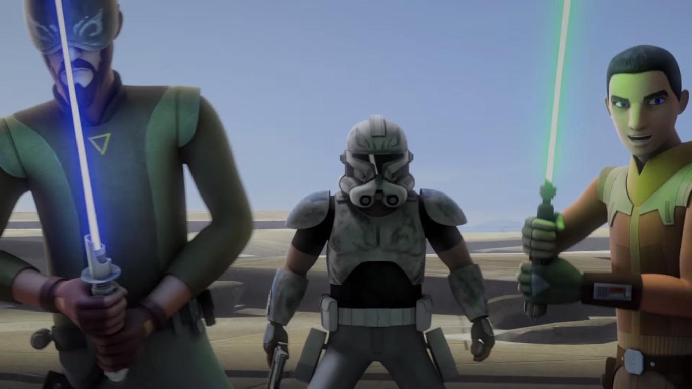 star wars rebels' season 3 trailer: battles leave scars - the nerd