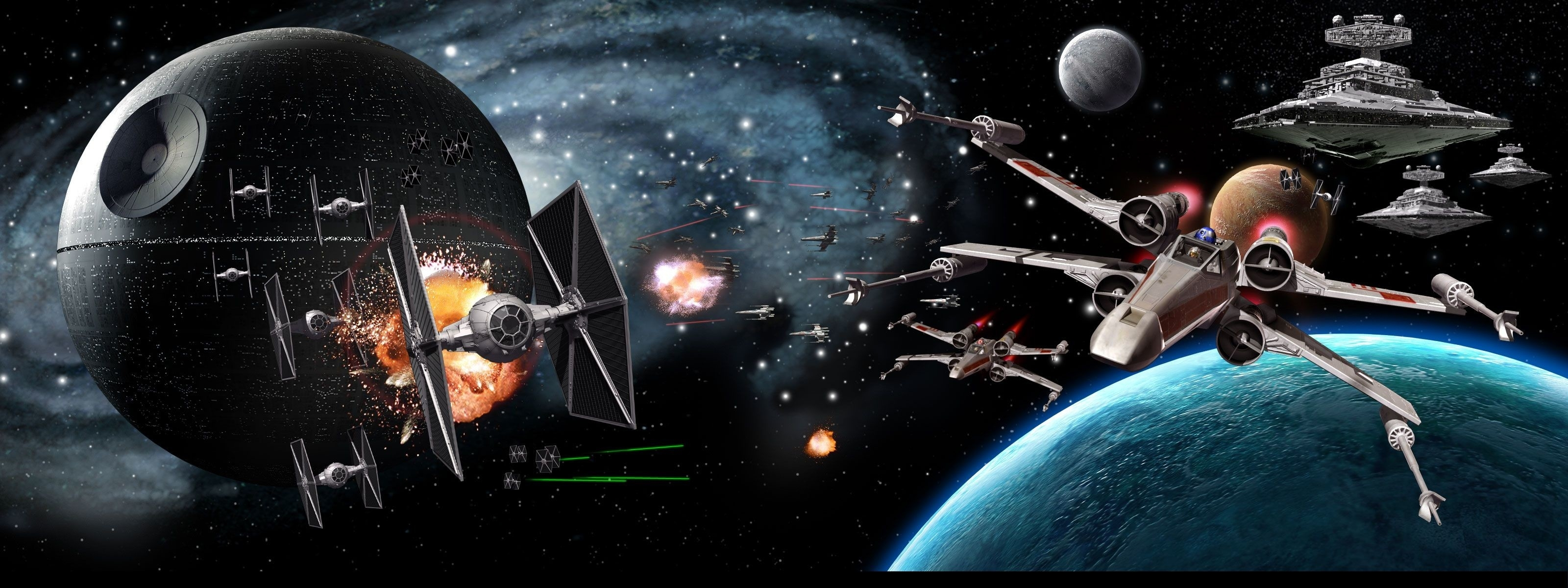 star wars triple screen wallpaper (19+ images)