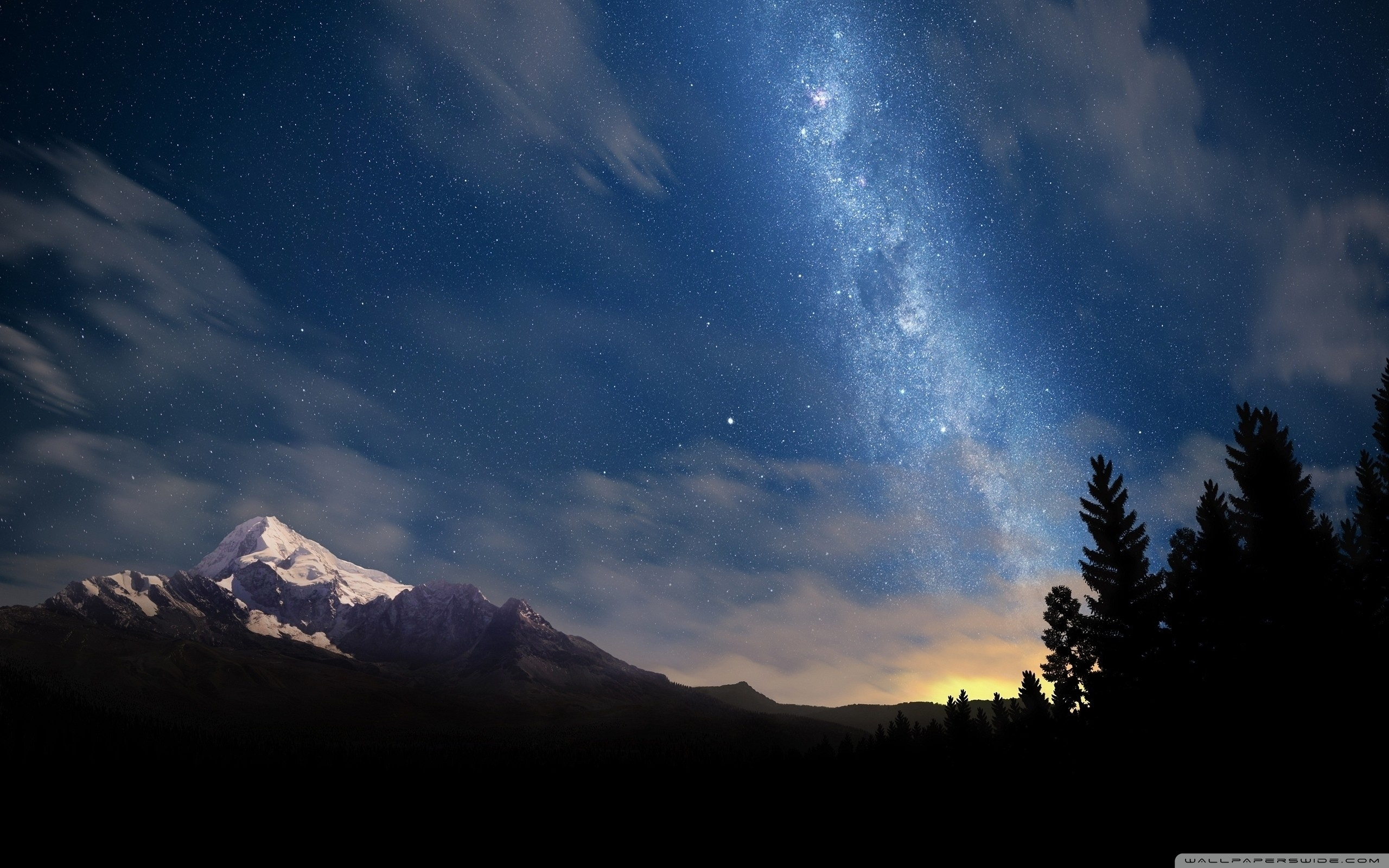10 Most Popular Starry Night Wallpaper 1920x1080 Full Hd 1080p For
