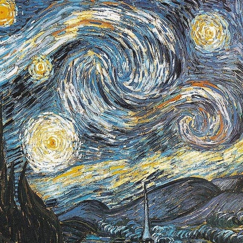 10 Most Popular Starry Night Wallpaper 1920X1080 FULL HD 1080p For PC Desktop 2018 free download starry nightvincent van gogh wallpapers group 71 800x800