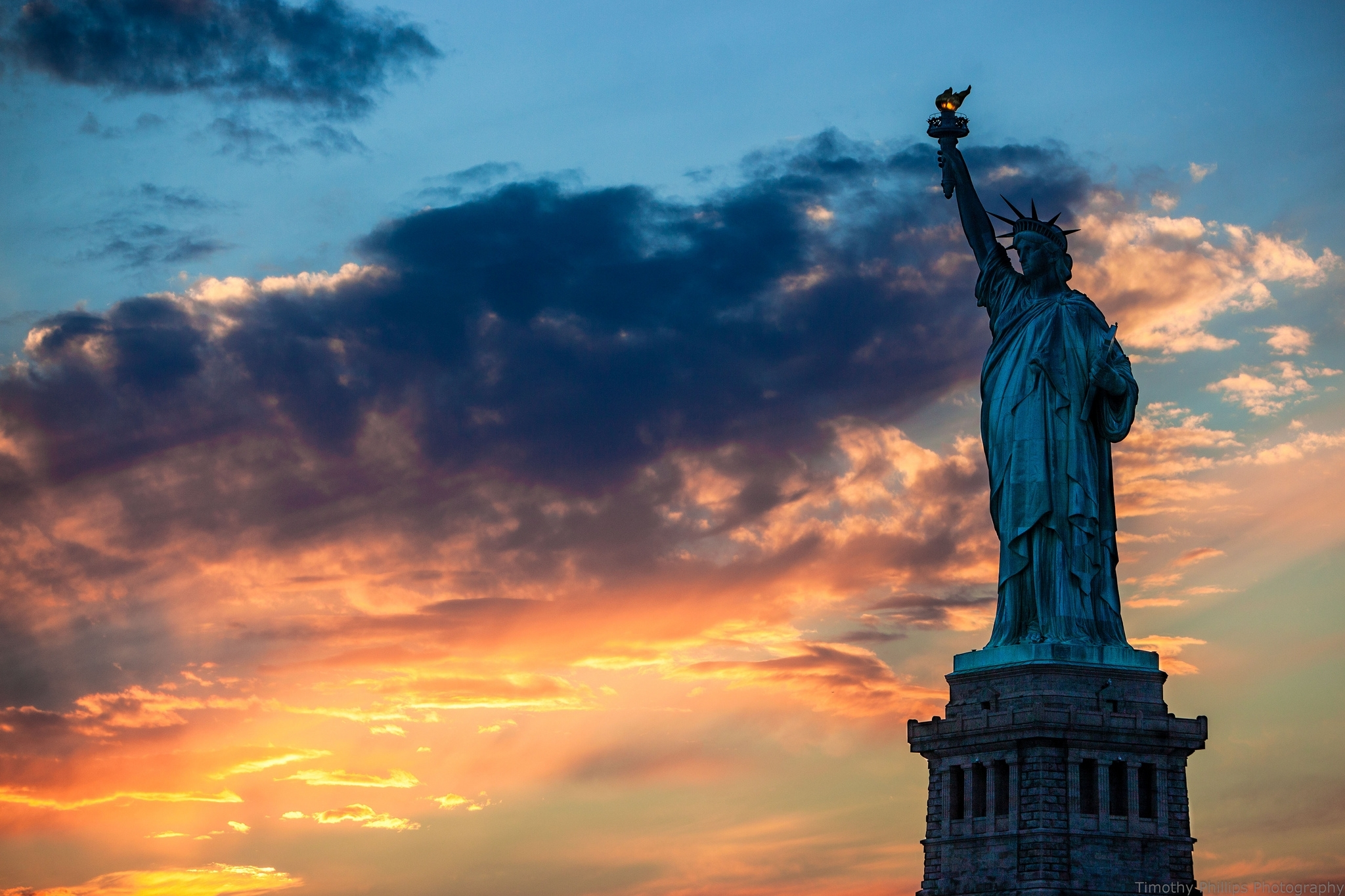 statue of liberty full hd fond d'écran and arrière-plan | 2048x1365