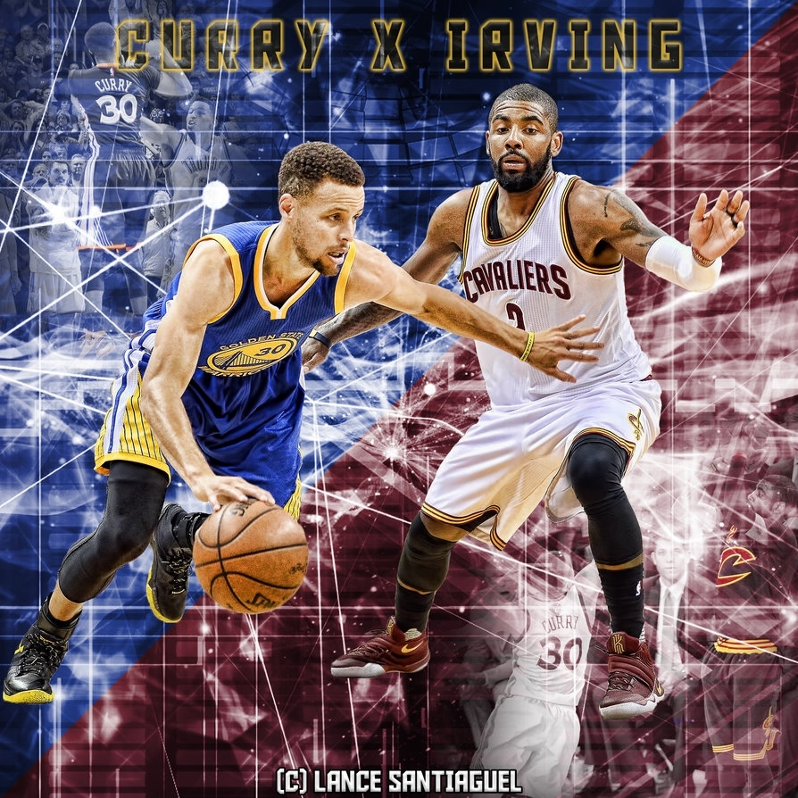 stephen curry vs kyrie irvinglancetastic27 on deviantart