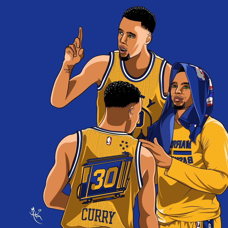 stephen-curry-wallpaperakaithedesigner on deviantart