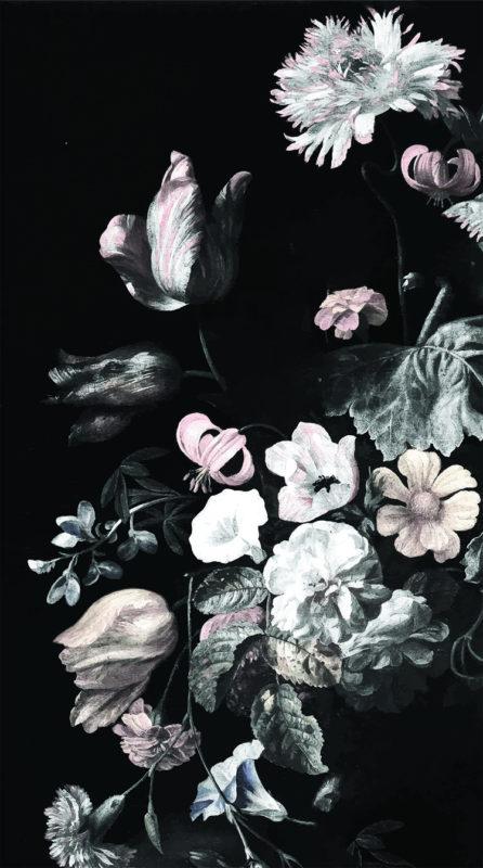 10 Best Black Flower Wallpaper FULL HD 1080p For PC Background 2018 free download still life floral mural dark floral mural floral wallpaper art 446x800