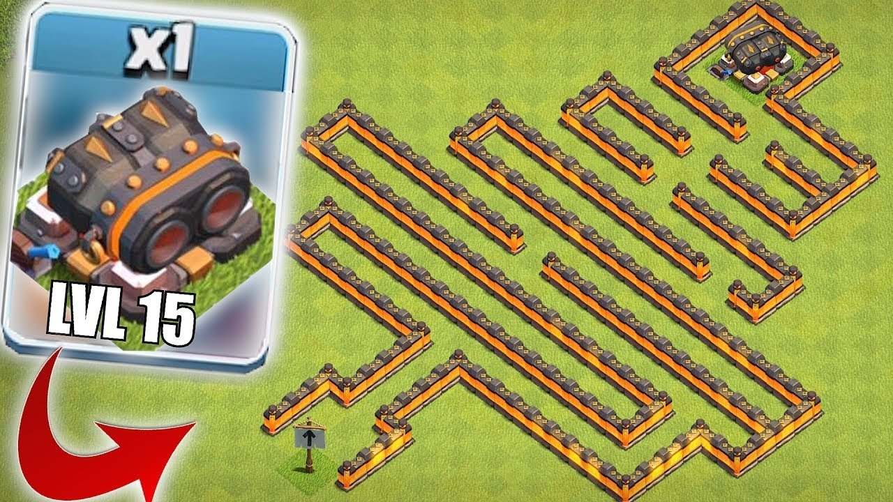 still undefeated!! | clash of clans | lvl 15 cannon maze base