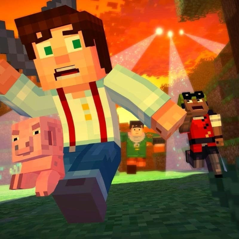 10 Most Popular Minecraft Story Mode Wallpapers FULL HD 1080p For PC Background 2018 free download story mode preview 800x800