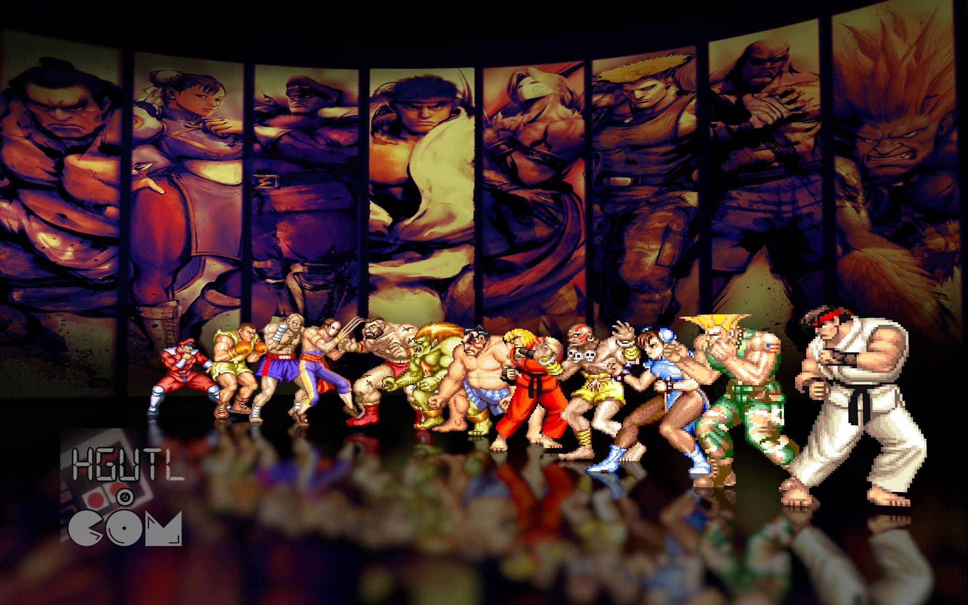 street fighter 2 wallpapers group (71+)