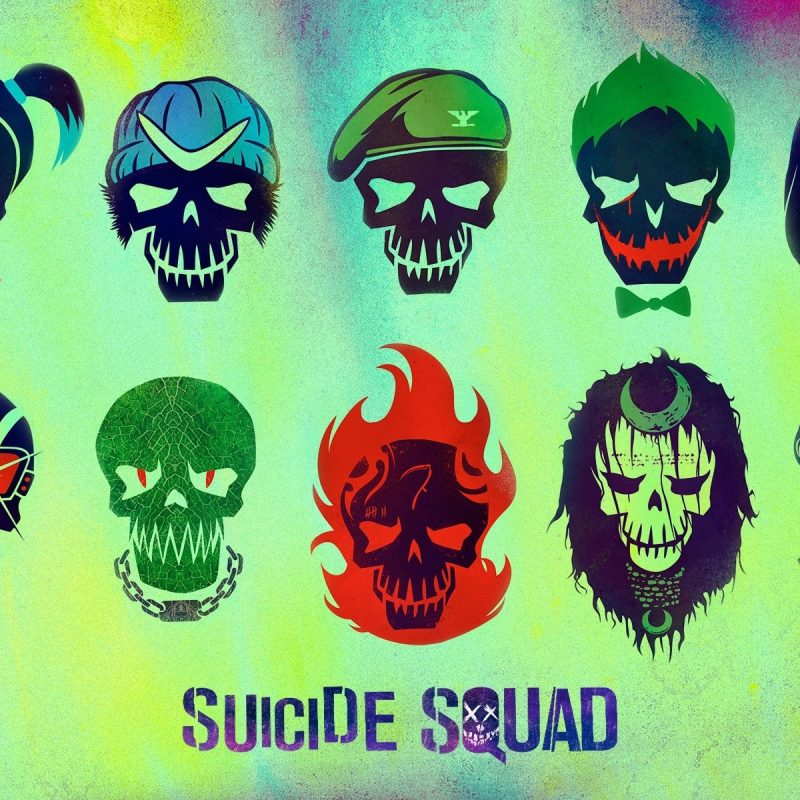 10 Best Suicide Squad Logo Wallpaper FULL HD 1920×1080 For PC Desktop 2018 free download suicide squad characters full hd fond decran and arriere plan 800x800