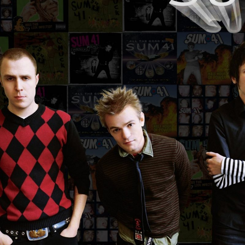 10 Most Popular Sum 41 Wall Paper FULL HD 1920×1080 For PC Desktop 2018 free download sum 41 full hd fond decran and arriere plan 1920x1080 id198648 800x800