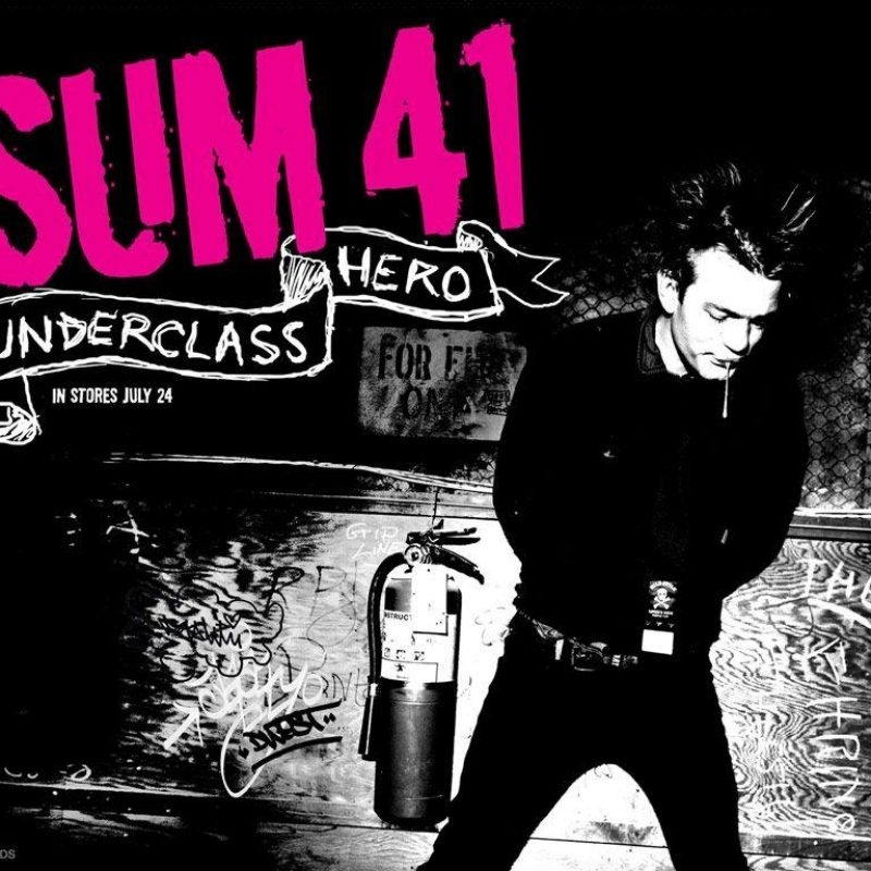 10 Most Popular Sum 41 Wall Paper FULL HD 1920×1080 For PC Desktop 2018 free download sum 41 wallpapers wallpaper cave 800x800