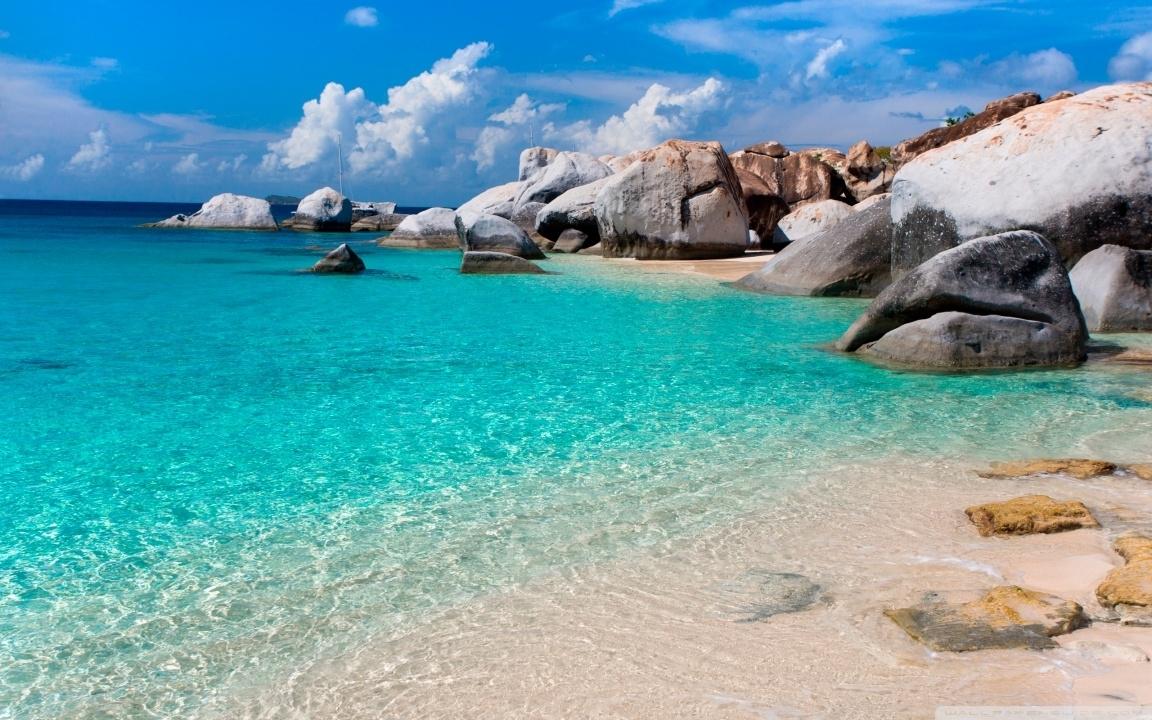summer beach scene ❤ 4k hd desktop wallpaper for 4k ultra hd tv