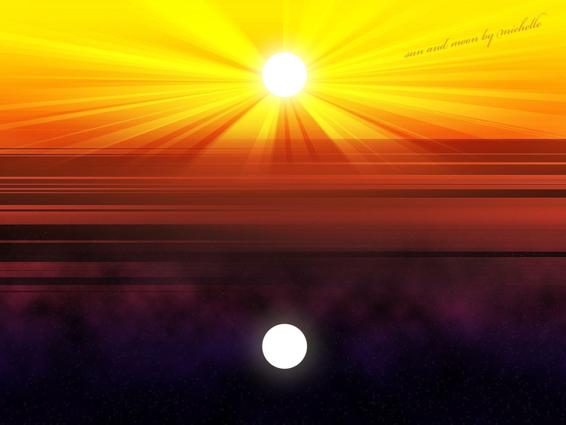 sun and moon backgrounds - wallpaper cave