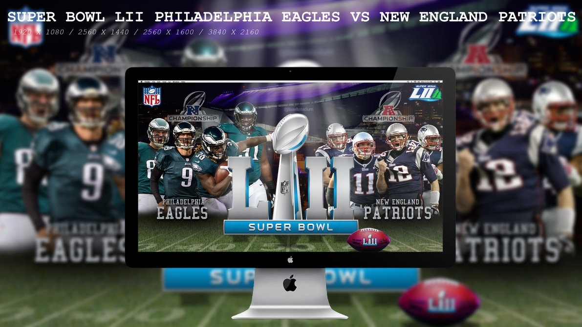 super bowl lii eagles vs patriotsbeaware8 on deviantart