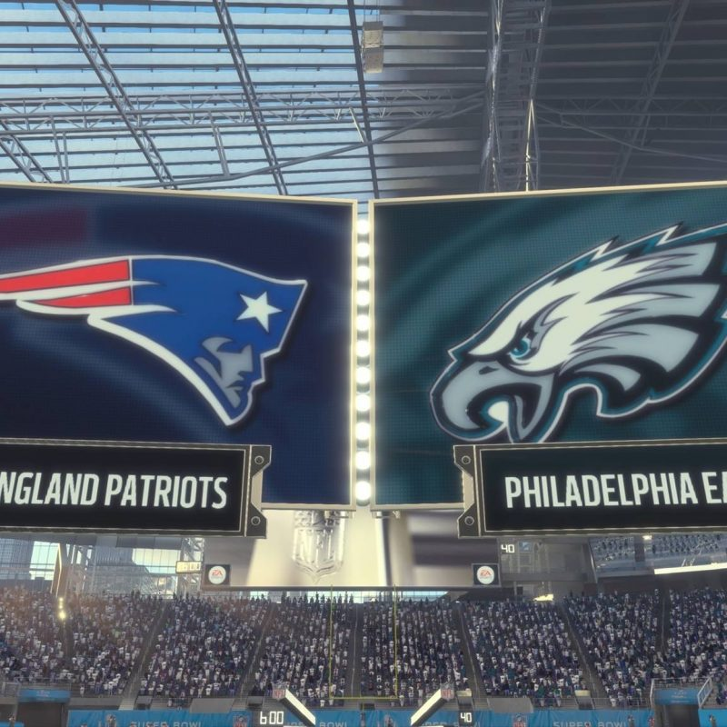 10 Most Popular Super Bowl Lii Wallpaper FULL HD 1080p For PC Desktop 2018 free download super bowl lii our madden 18 simulated results 1 800x800