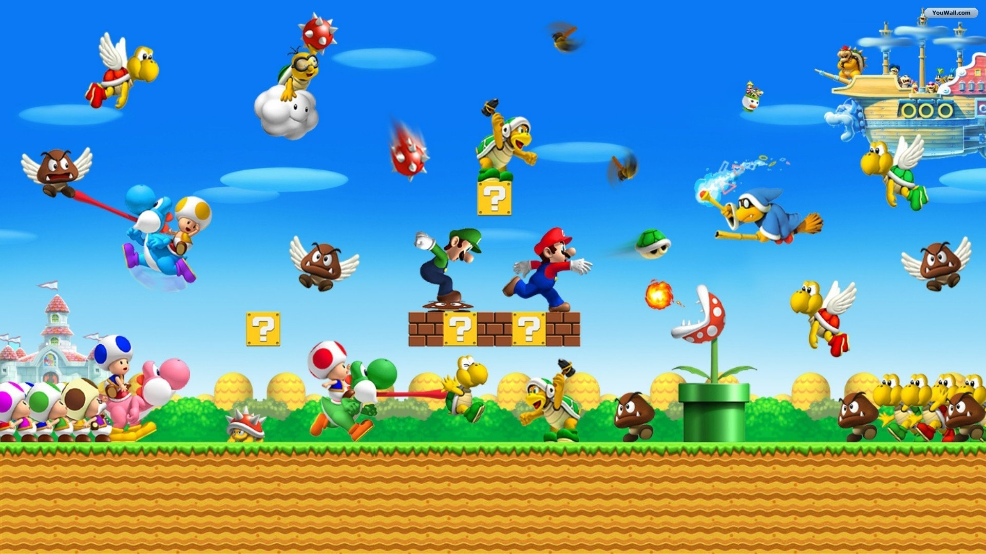 super mario desktop wallpaper |  2013 filed under 1920x1080