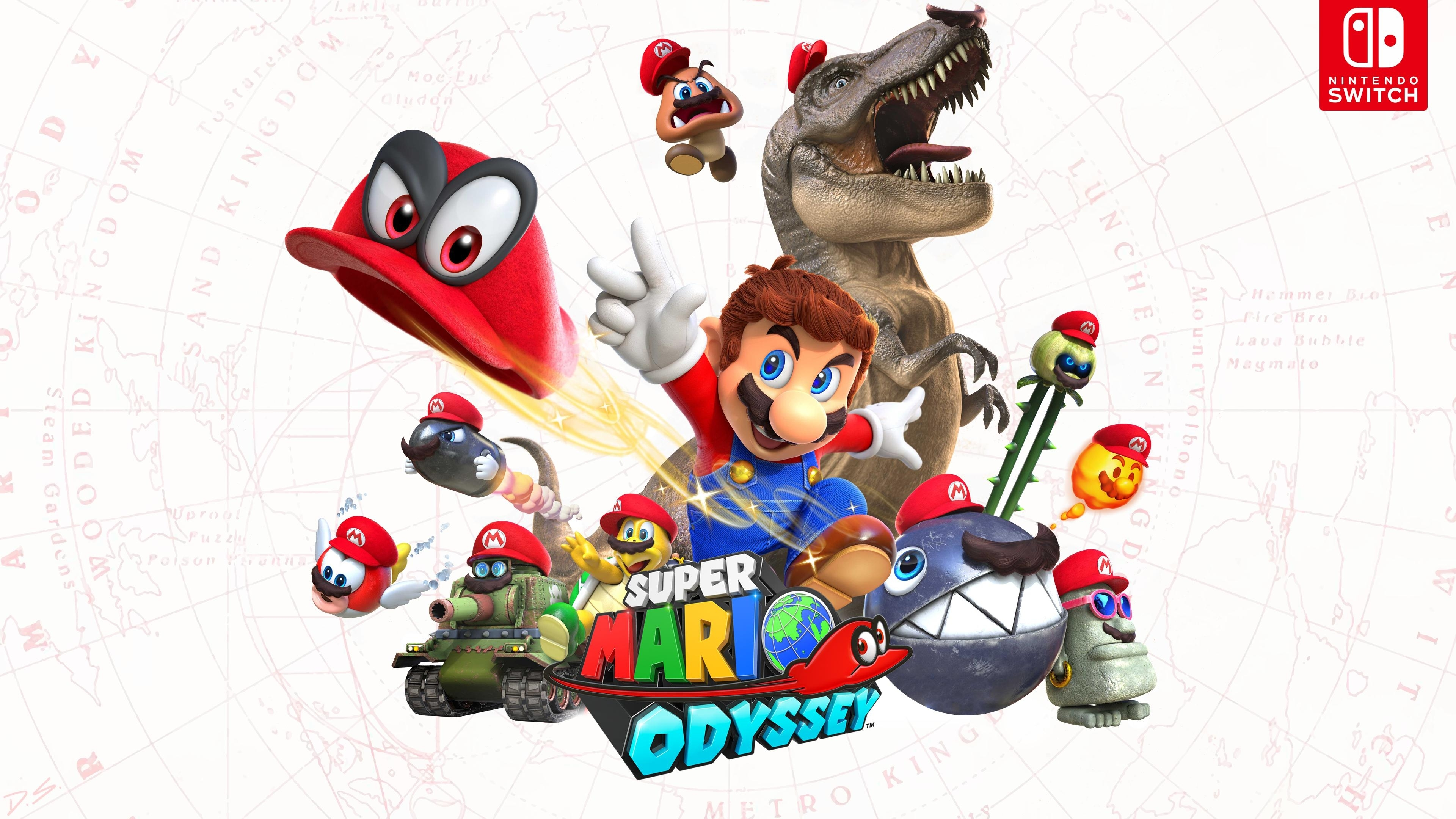 super mario odyssey wallpapers - wallpaper cave