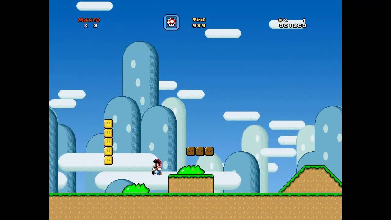 super mario world custom hd engine (built from scratch with c++/