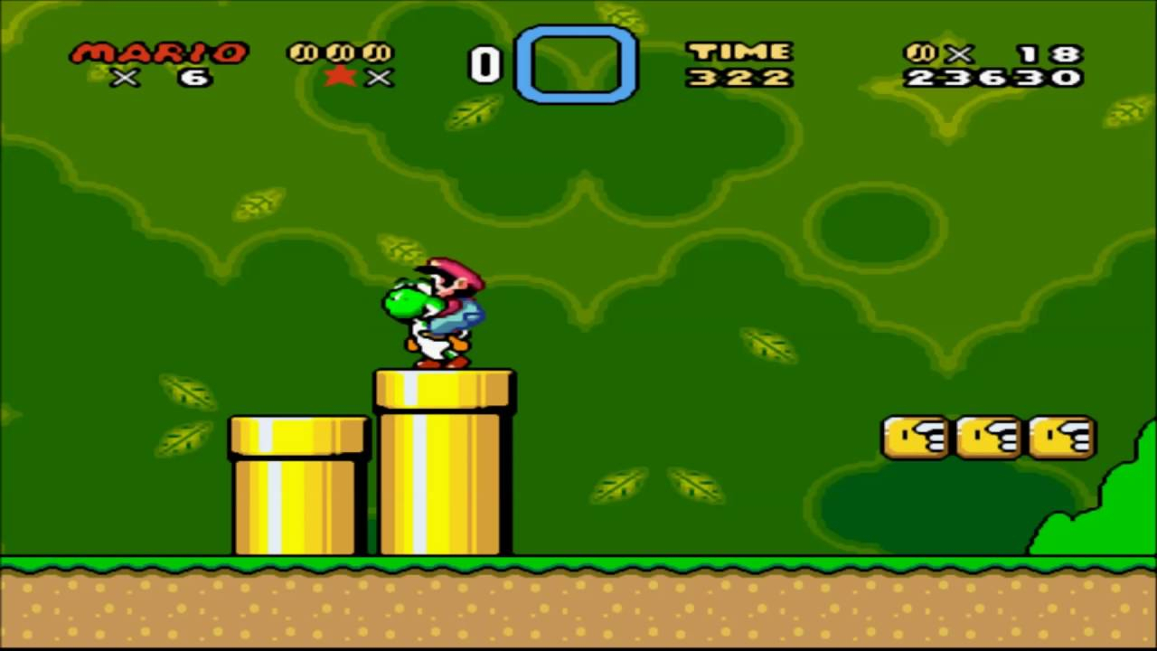 super mario world hd - zsnes emulator - youtube
