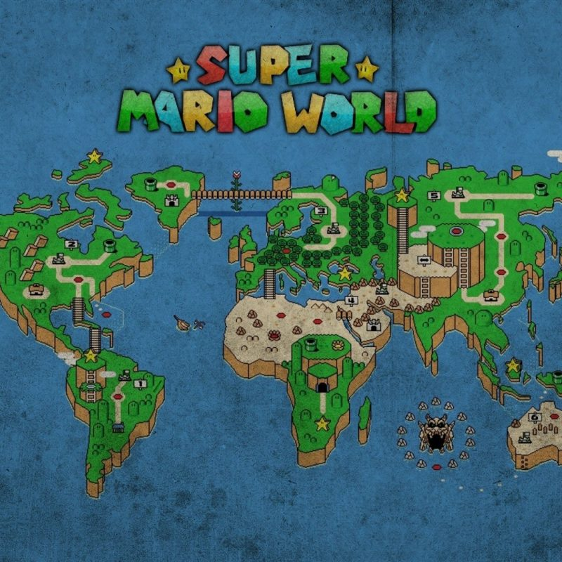 10 Best Super Mario World Map Wallpaper FULL HD 1080p For PC Background 2021 free download super mario world map 733863 walldevil 800x800