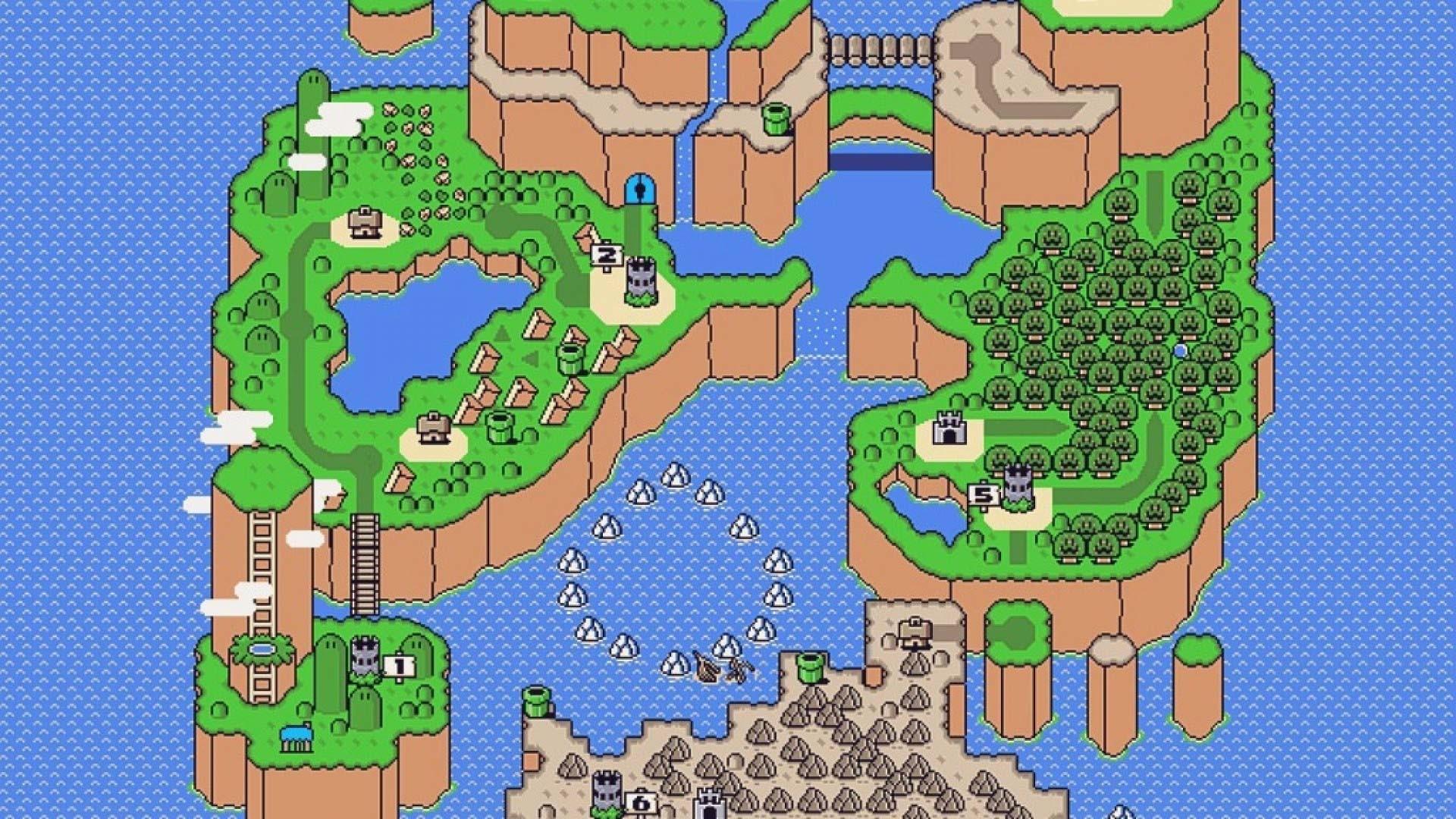 super mario world map wallpaper (56+ images)