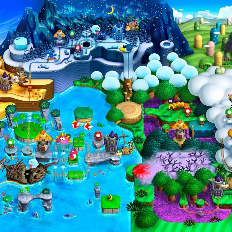 10 Best Super Mario World Map Wallpaper FULL HD 1080p For PC Background 2021 free download super mario world map wallpaper 73806 800x800