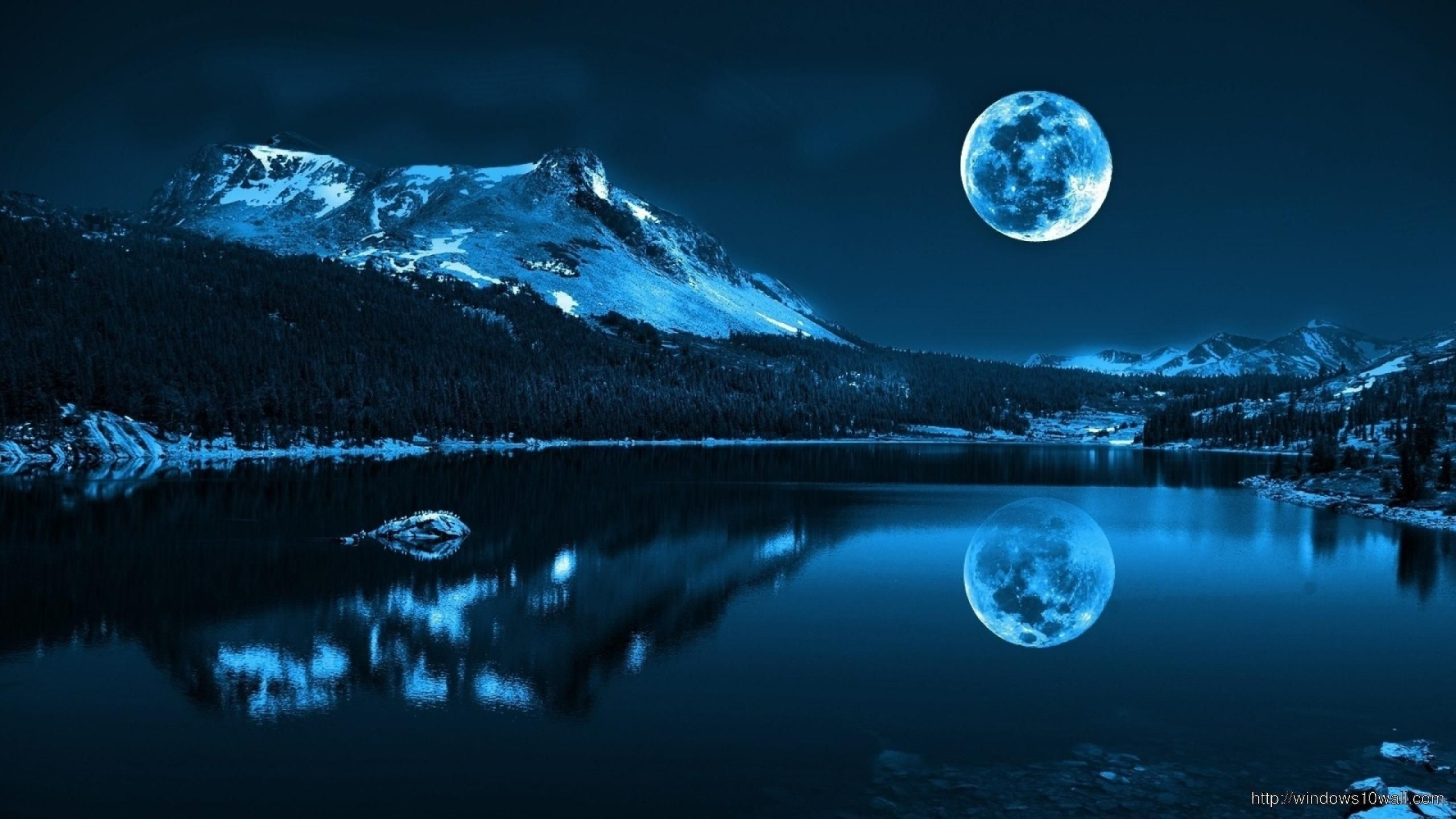 super moon background wallpaper – windows 10 wallpapers   windows