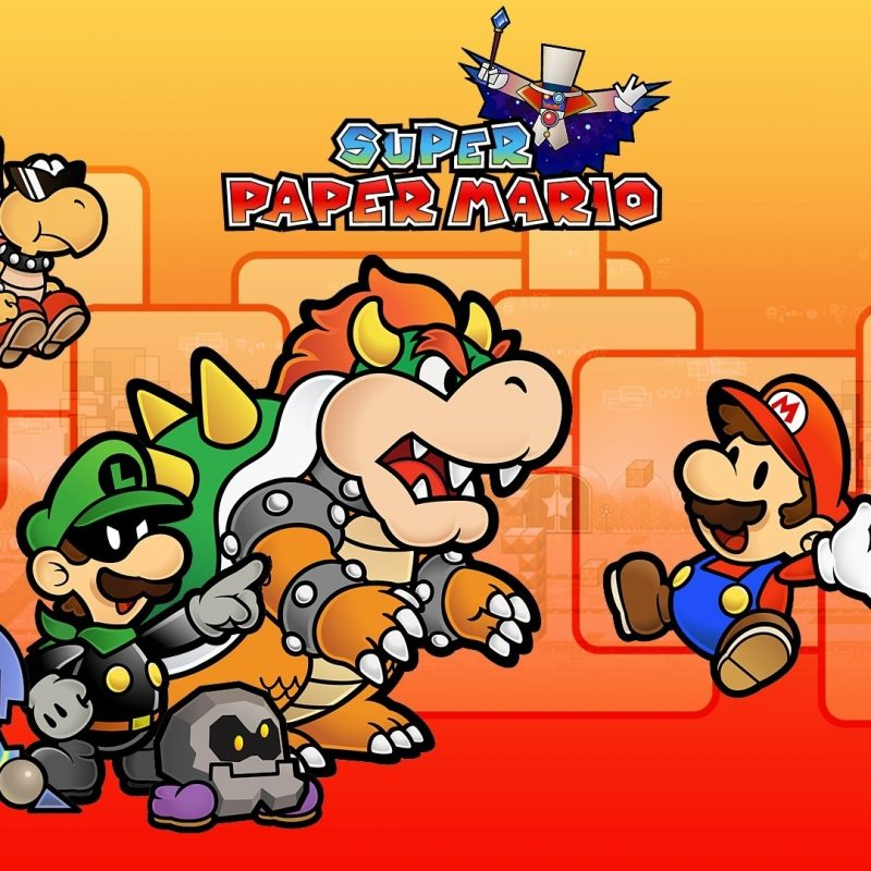 10 Top Super Paper Mario Wallpaper FULL HD 1920×1080 For PC Desktop 2021 free download super paper mario 254735 walldevil 800x800
