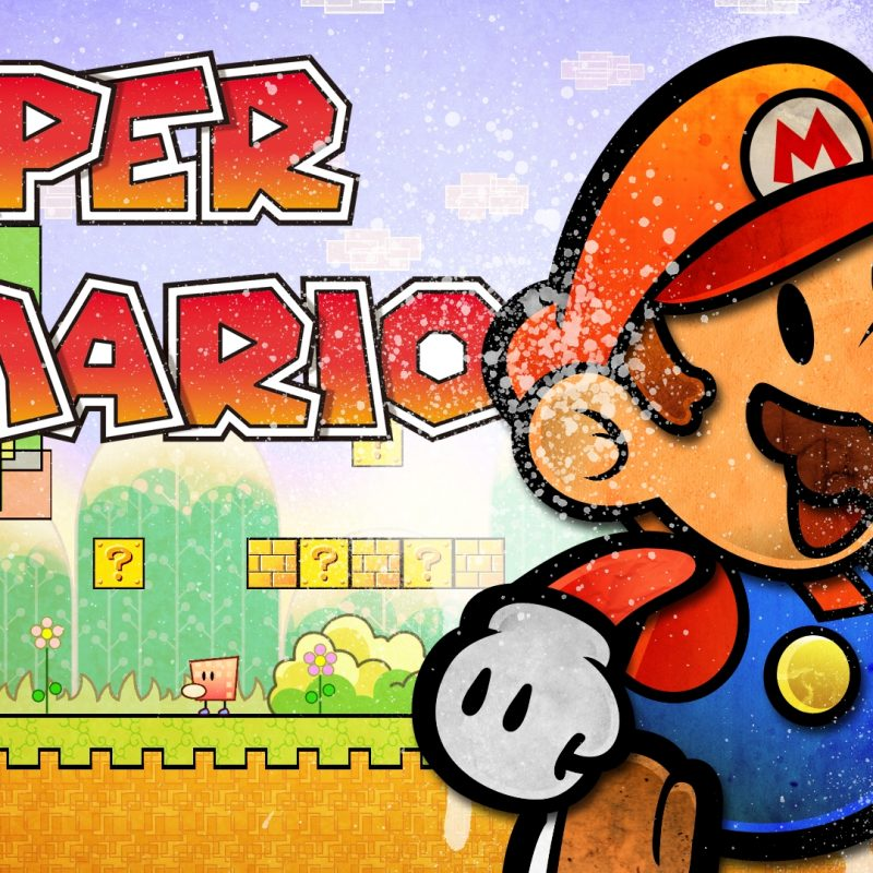 10 Top Super Paper Mario Wallpaper FULL HD 1920×1080 For PC Desktop 2021 free download super paper mario full hd wallpaper and background image 1920x1080 800x800
