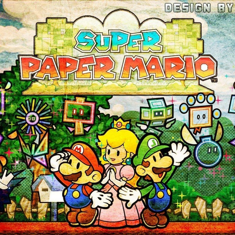10 Top Super Paper Mario Wallpaper FULL HD 1920×1080 For PC Desktop 2021 free download super paper mario wallpapers wallpaper cave 800x800