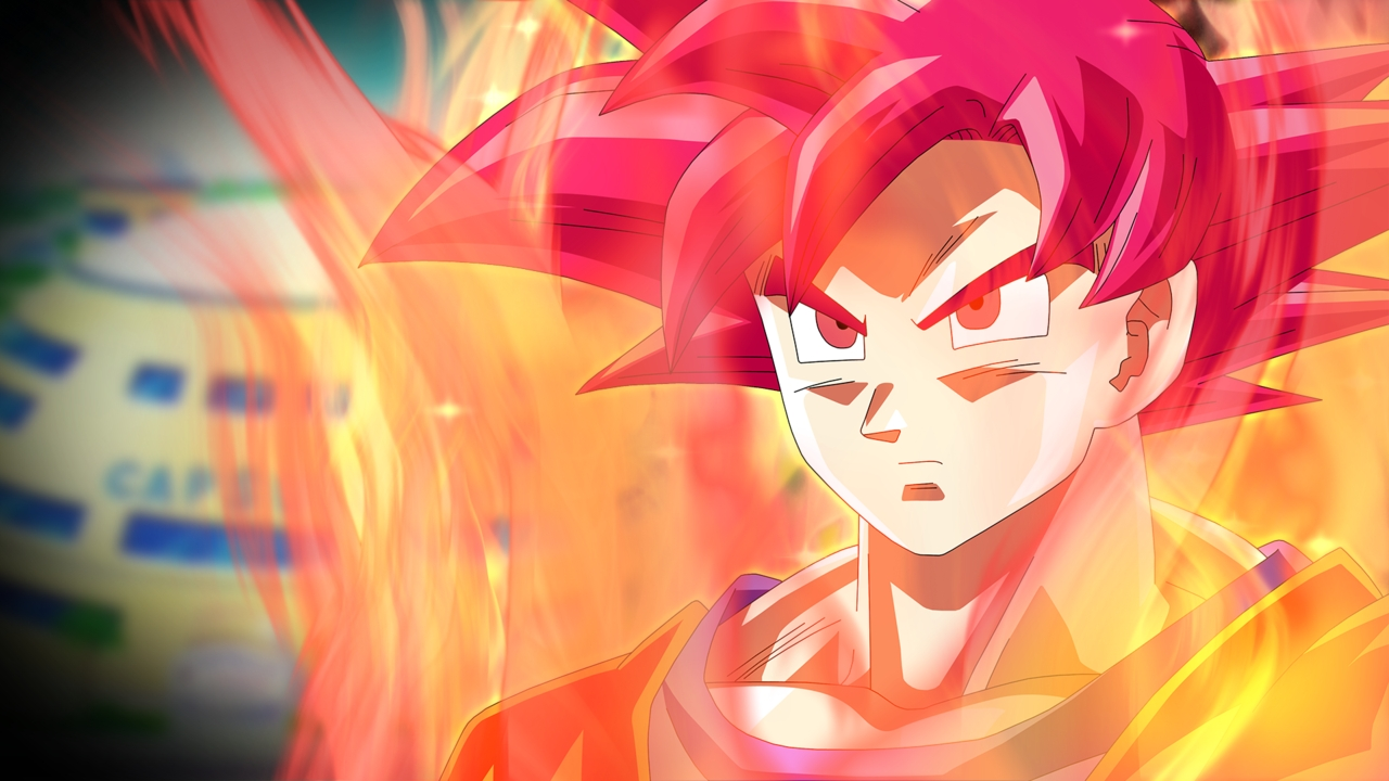 super saiyan god hd wallpaper - wallpapersafari | best games