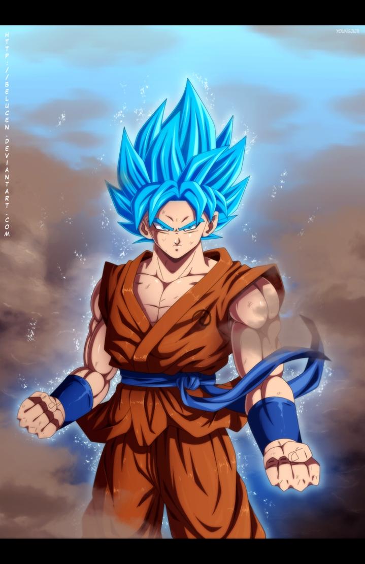 super saiyan god super saiyan gokubelucen | dbzzzzzz