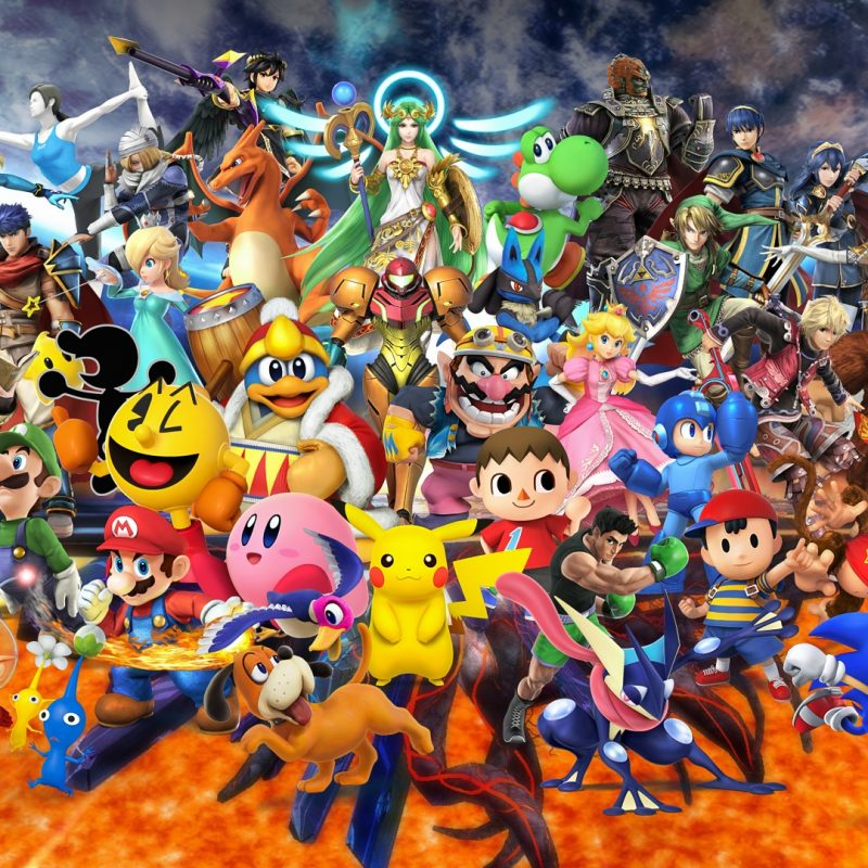 10 Latest Smash Bros Hd Wallpaper FULL HD 1080p For PC Background 2018 free download super smash bros for nintendo 3ds and wii u all characters 800x800