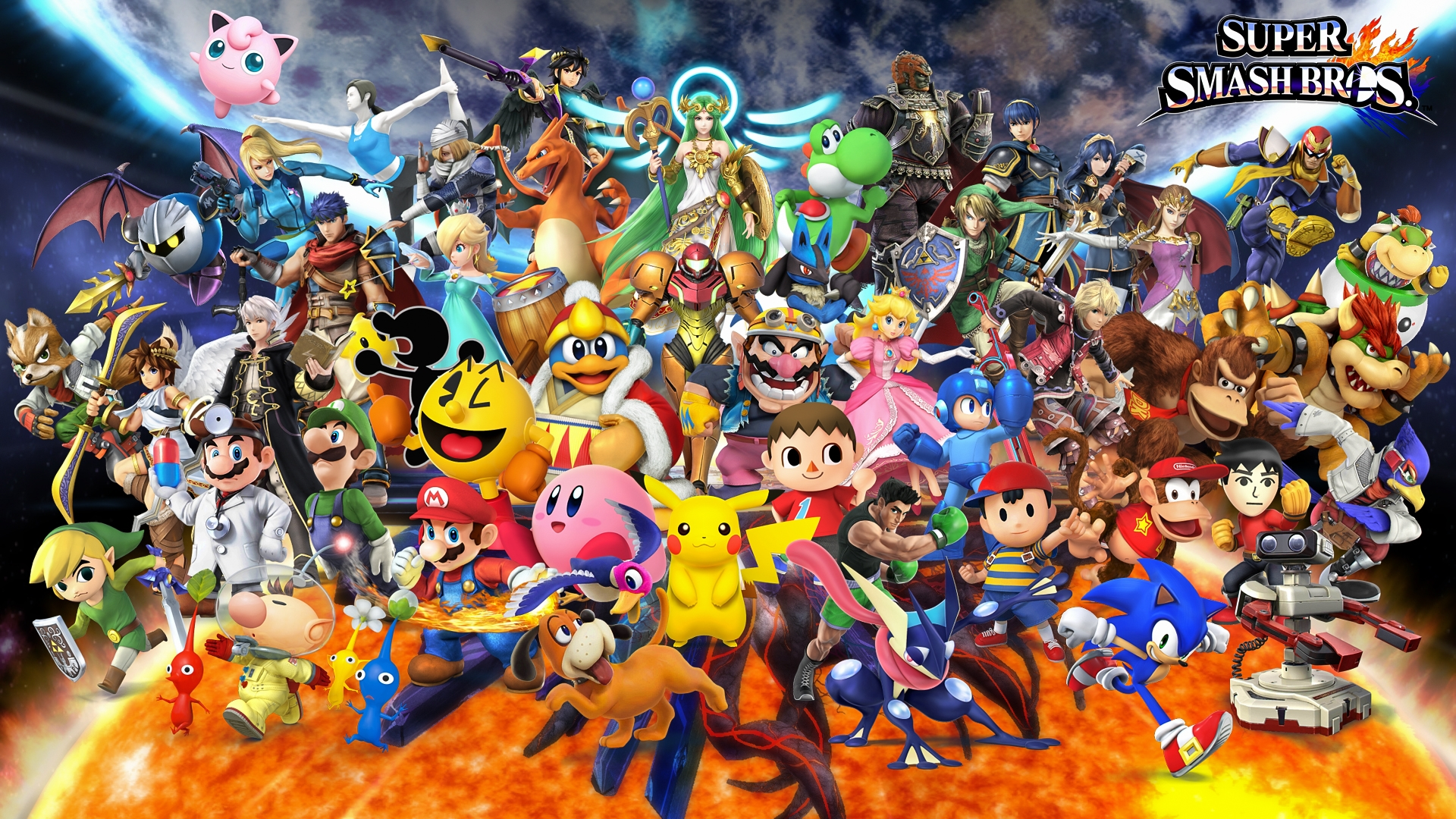 super smash bros. for nintendo 3ds and wii u all characters