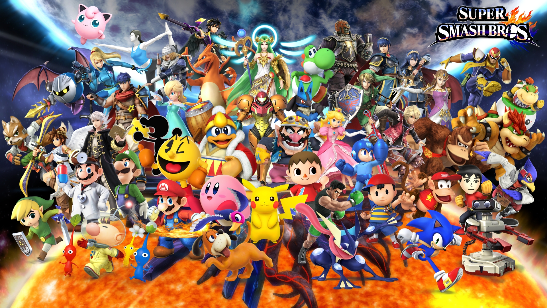 super smash bros wallpaper hd - wallpapersafari | wallpapers | pinterest