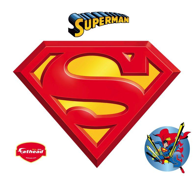 10 New Pics Of Superman Symbol FULL HD 1080p For PC Desktop 2021 free download superman logo wall decal shop fathead for superman decor 1 800x800
