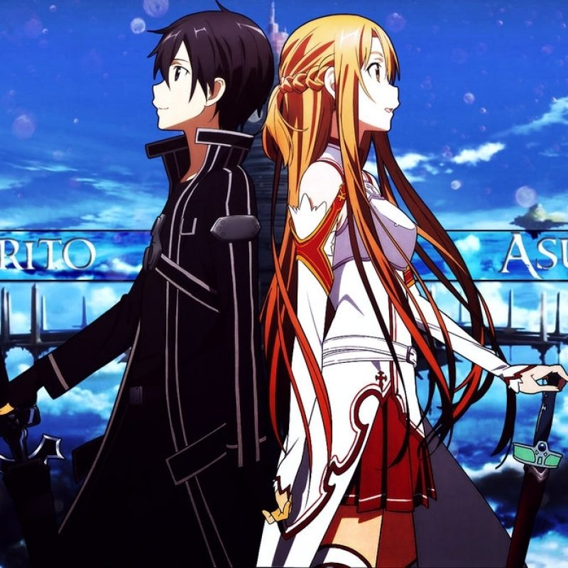 10 Top Kirito And Asuna Wallpaper FULL HD 1080p For PC Background 2021 free download sword art online kirito and asuna wallpaper full hd 800x800