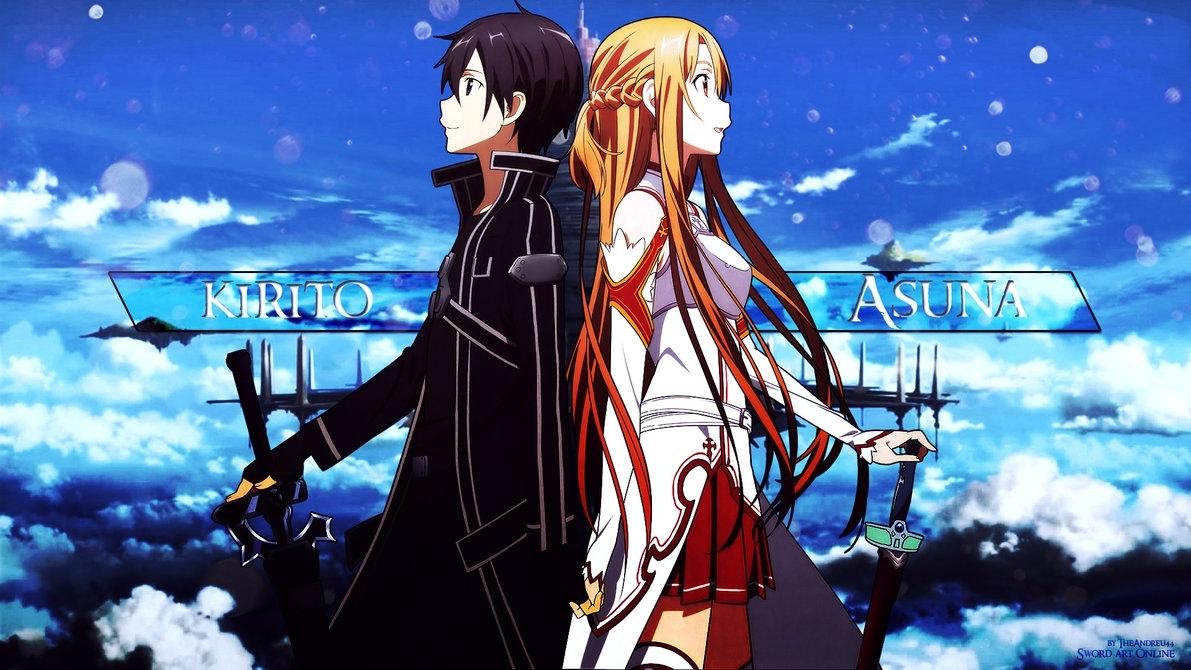 Wallpaper Phone - Kirito, Asuna And Alice Full HD | Animes