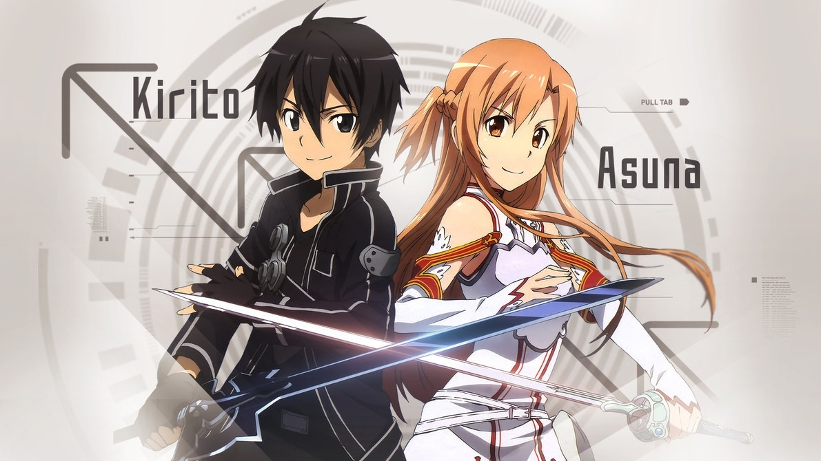 anime, Anime Girls, Sword Art Online, Kirigaya Kazuto