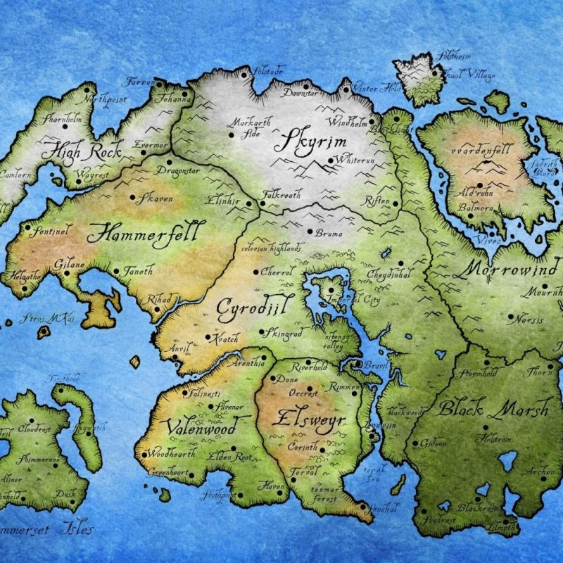 10 Best Elder Scrolls Map Wallpaper FULL HD 1080p For PC Background 2020 free download tamriel the elder scrolls maps wallpaper 46764 800x800