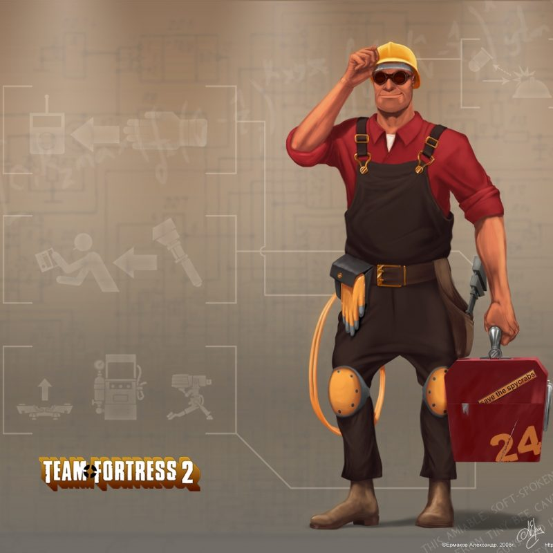 10 New Team Fortress 2 Engineer Wallpaper FULL HD 1920×1080 For PC Background 2018 free download team fortress 2 engineer wallpapers group 72 800x800